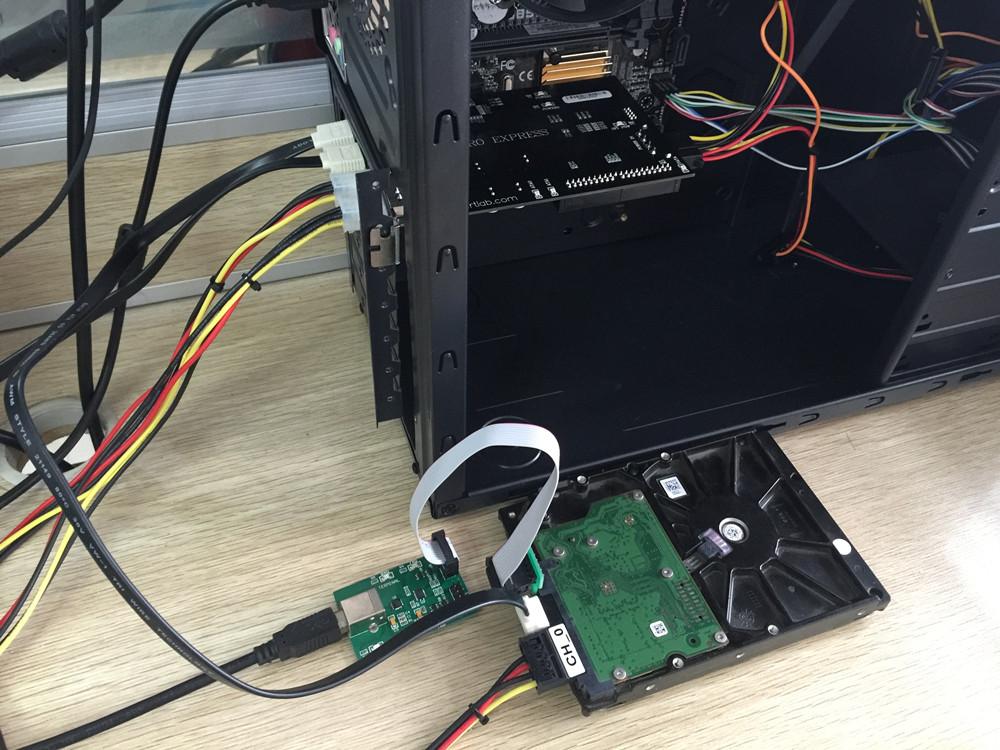 电脑内硬件连接