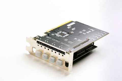 MRT Ultra SATA Controller Card Reverse Side